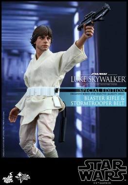 Hot Toys Star Wars Luke Skywalker -with Stormtrooper gun