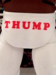 Junkyard Dog figure Mattel WWE Elite 33 - Thump detail