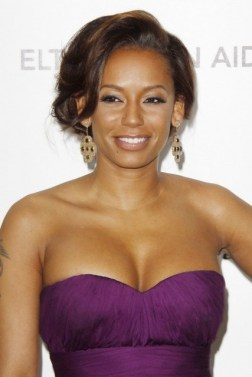 Mel B - purple top