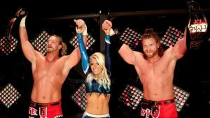 NXT Takeover Unstoppable - Blake and Murphy and Alexa Bliss