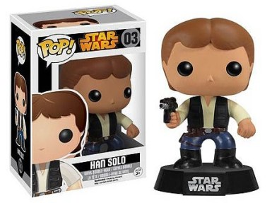 Star Wars Han Solo Vinyl Bobble Head