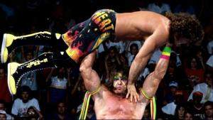 The Ultimate Warrior vs Rick Rude