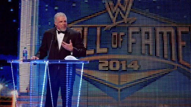 Ultimate Warrior Hall of Fame Induction 2014