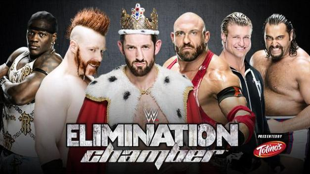 WWE Elimination Chamber 2015 - R-Truth vs Sheamus vs King Barrett vs Ryback vs Ziggler vs Rusev