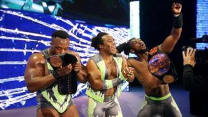 WWE Payback - New Day celebrates
