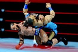 Randy Orton Mattel WWE Elite 35 -back cracking John Cena