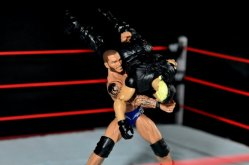 Randy Orton Mattel WWE Elite 35 -body slamming Seth Rollins