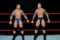 Randy Orton Mattel WWE Elite 35 -scale with Elite Series 2 Orton figure