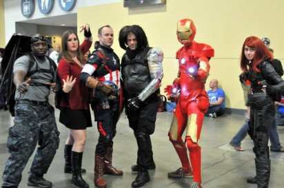 Awesome Con 2015 cosplay Day 2- Avengers