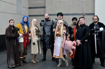 Awesome Con 2015 cosplay Day 2- Game of Thrones ensemble