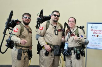 Awesome Con 2015 cosplay Day 2- Ghostbusters