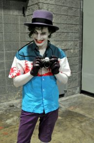 Awesome Con 2015 cosplay Day 2- Killing Joke Joker