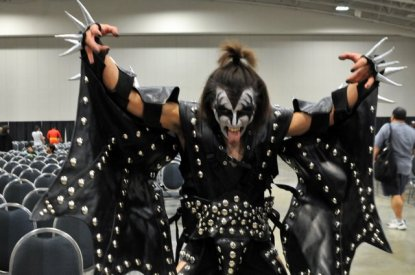 Awesome Con 2015 cosplay Day 2- KISS