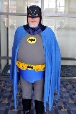 Awesome Con 2015 cosplay Day 2- old school Batman