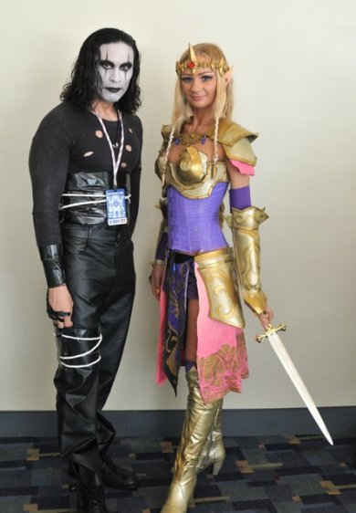 Awesome Con 2015 cosplay Day 2- The Crow and