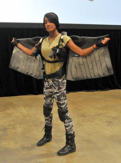 Awesome Con 2015 cosplay Day 2- Winter Soldier Falcon
