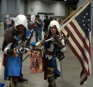 Awesome Con 2015 cosplay Saturday - Assassin's Creed