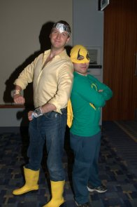 Awesome Con 2015 cosplay Saturday - Power Man and Iron Fist