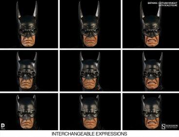 Batman Gotham Knight Sideshow - various expressions