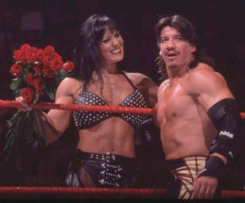 Chyna and Eddie Guerrero