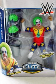 Doink the Clown WWE Mattel figure review - front package
