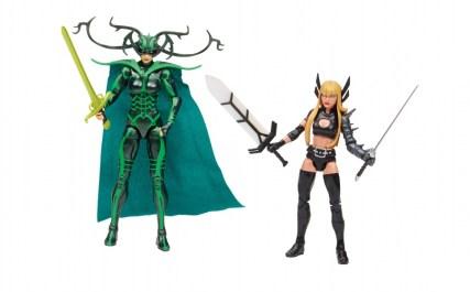 Dr. Strange Marvel Legends boxset -Hela and Magik