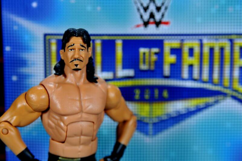 WWE Elite Eddie Guerrero WCW Hall of Fame Exclusive Mattel Figure Loose