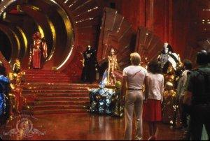 Flash Gordon - Flash, Dale and Zarkov meet Ming