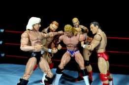 Four Horsemen figure review - Four Horsemen jumping Luger