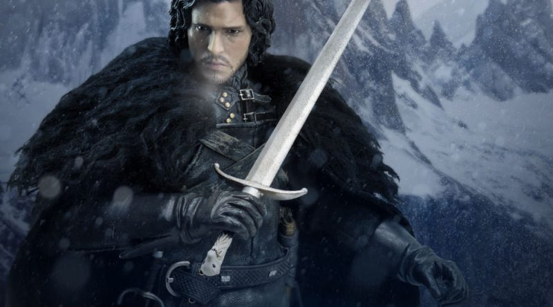 Game of Thrones Jon Snow figure - main pic