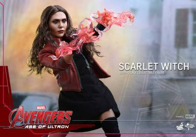 Hot Toys Avengers Age of Ultron Scarlet Witch figure - gesturing