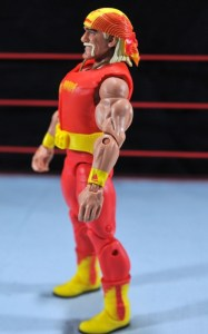 Hulk Hogan Hall of Fame figure - left side