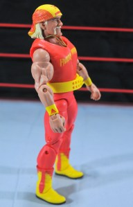 Hulk Hogan Hall of Fame figure -right side