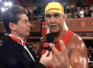 Hulk Hogan return to RAW 1993