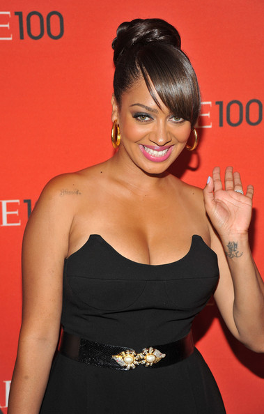 La La Anthony - black dress