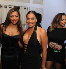 La La Anthony -with Taraji P Henson