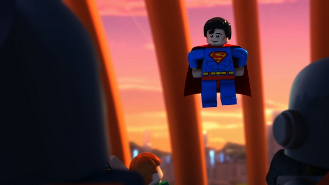 LegoJL Bizarro Justice League -Supes talks to JL