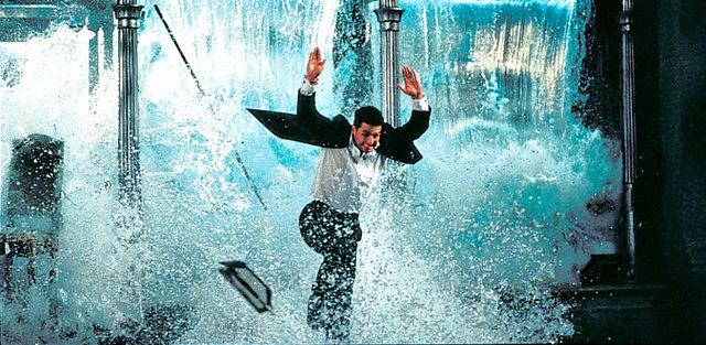 Mission Impossible 1996 - Ethan Hunt escaping Aqua restaurant