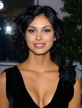 Morena Baccarin - black dress
