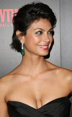 Morena Baccarin - black shell top