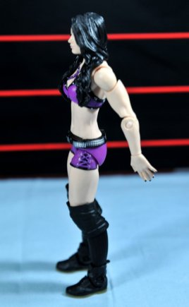 Paige WWE Mattel figure -left side