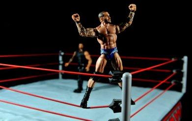 Randy Orton Mattel WWE Elite 35 -mounting top rope pose