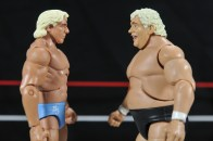 Ric Flair Defining Moments figure review - face off with Dusty Rhodes