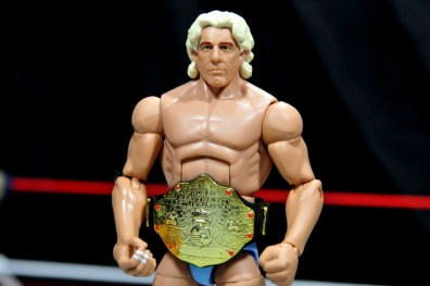 Ric Flair Defining Moments figure review - the big gold belt