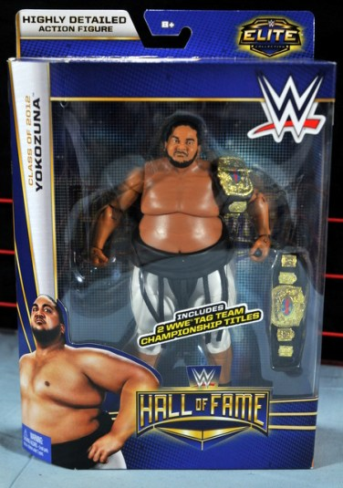 Yokozuna figure review Hall of Fame - package