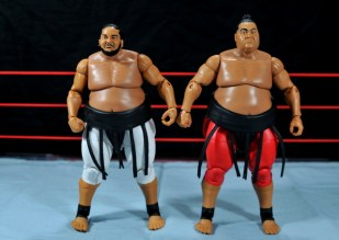 Yokozuna figure review Hall of Fame - with Elite 15 Yokozuna