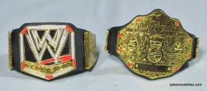 Daniel Bryan Mattel figure review - WWE and world title belts