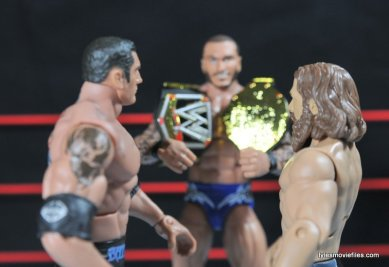 Daniel Bryan Mattel figure review -Wrestlemania 30 main event