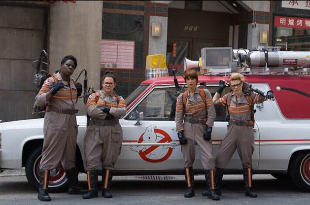 Ghostbusters 2016 reboot cast