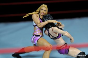Emma WWE Mattel Basic 30 -headlocking Paige